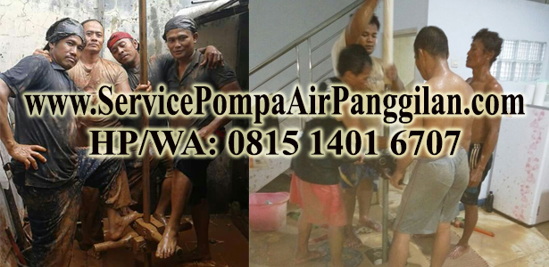 Service Pompa Air Panggilan Murah di Kemang Pratama