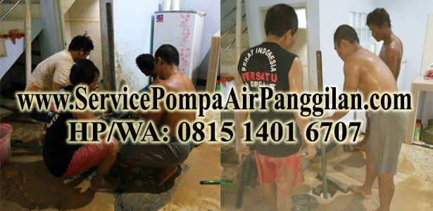 Service Pompa Air Panggilan Murah di Kramat